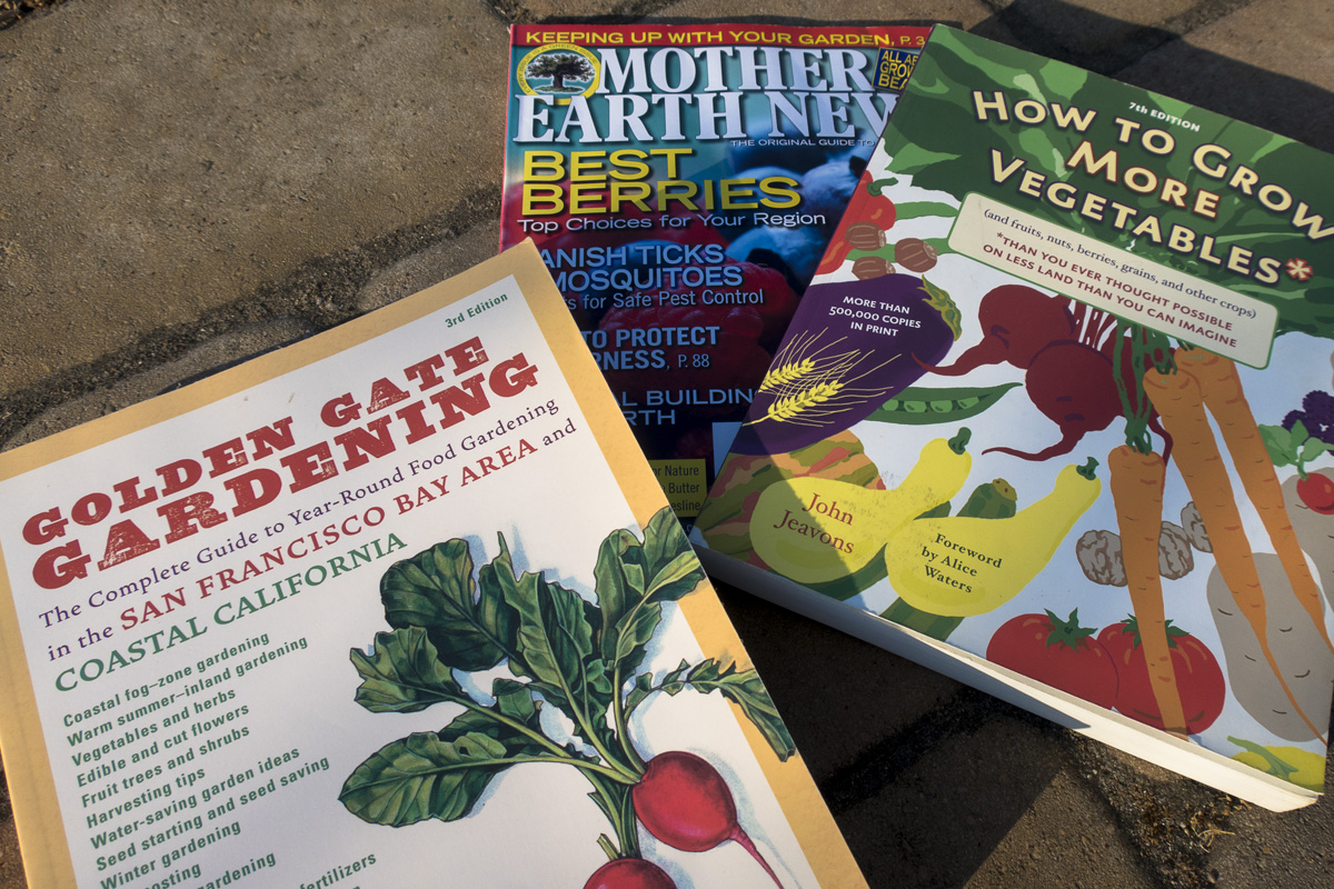 Books essential for SF Bay Gardeners