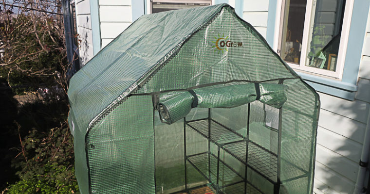 Assembly and Review of the OGrow Deluxe Walk-In Greenhouse
