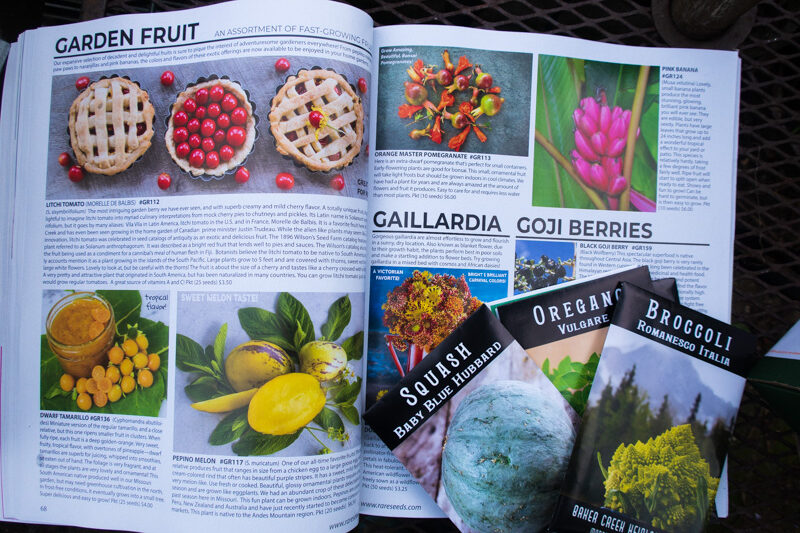 Baker Creek Heirloom Seed 2021 Catalog