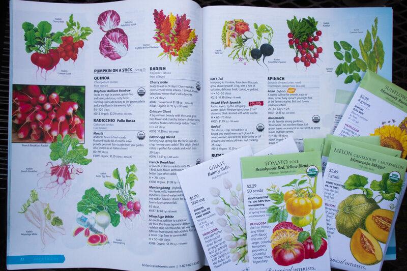 Botanical Interests 2021 Seed Catalog