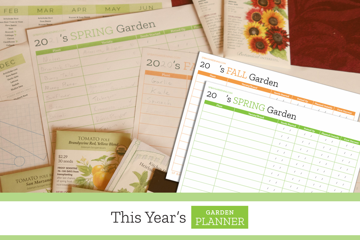This Year's Garden Planner Printable